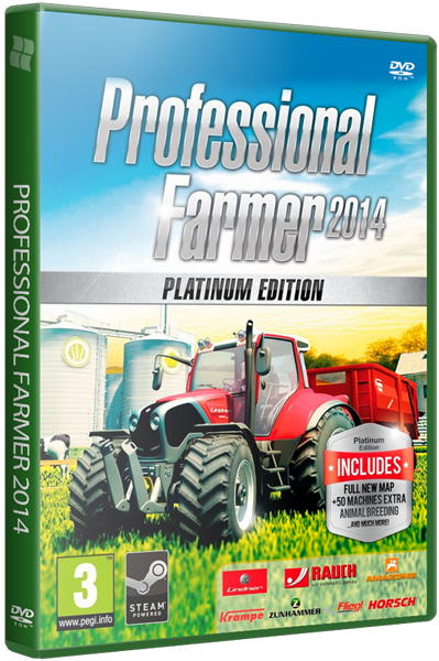 Professional Farmer 2014 Platinum Edition (2014) PC | RePack от xatab