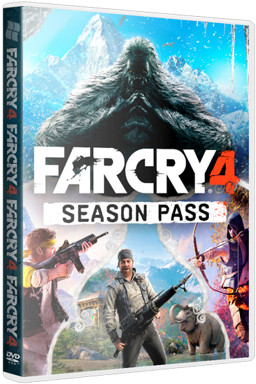 Far Cry 4 [v 1.10 + DLC's] (2014) PC | RePack от xatab