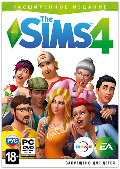 The Sims 4: Deluxe Edition  [v 1.61.15.1020 + DLC] (2014) PC | RePack от xatab