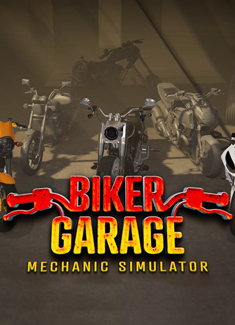 Biker Garage: Mechanic Simulator (2019) RePack от xatab